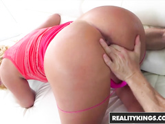 Tight and excitingly sexy Keely Jones blowjobs big dick and gets fucked